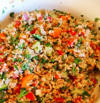Tabbouleh, I think I love you!